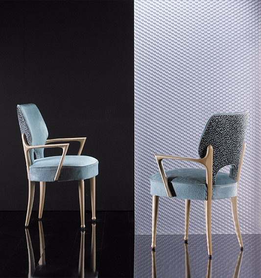 849A Armchairs | W 60 D 56 H 89
