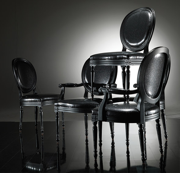 859A Armchair W 63 D 61 H 99 | 859S Chair W 56 D 60 H 99